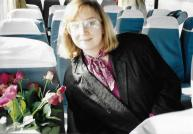 Russia-BH with roses on bus