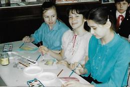 USSR watercolor class
